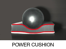 Tennis Tech: 3-Layer POWER CUSHION 2